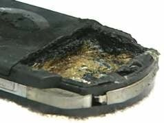 PSP burned - image courtesy Local 4