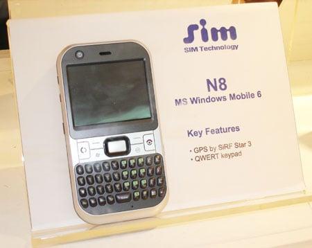 Sim Technologies' N8 smartphone
