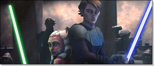 Still from Star Wars: The Clone Wars. Pic: Lucasfilm