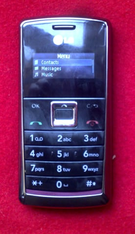 LG's not-a-brick KT610 phone
