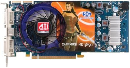 Sapphire AMD ATI Radeon HD 3850 1GB