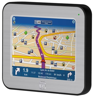 Route 66 Mini regional sat-nav