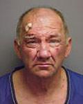 Police mugshot of Duncan Kirk