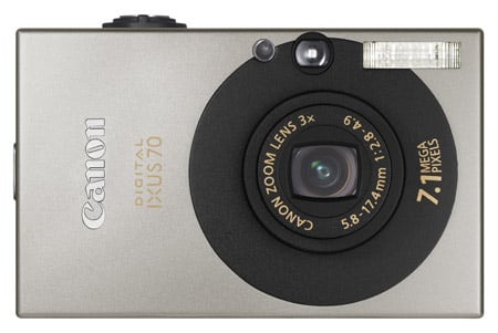 Canon Digital Ixus 70 compact camera
