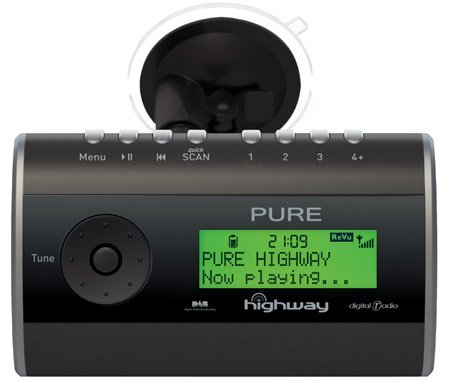 Pure 'Highway' in-car DAB radio