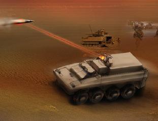 Northrop's laser-panzer concept