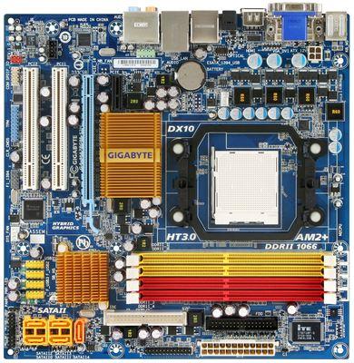 Gigabyte's 780G-based MA78GM-S2H
