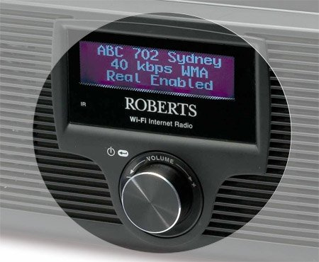 Roberts WM-201 Wi-Fi internet radio and media player