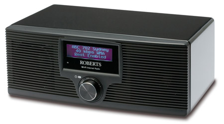 Roberts WM-201 Wi-Fi internet radio and med