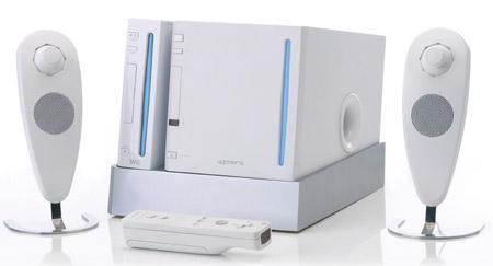 Wii 2.1 speaker system
