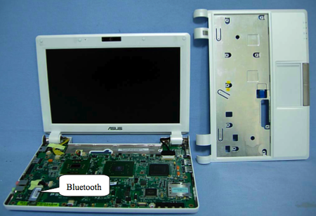 Asus Eee PC 900 Bluetooth module