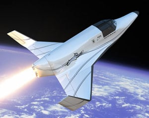 The Lynx suborbital vehicle. Pic: XCOR