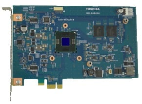 Toshiba SpursEngine SE1000 reference board