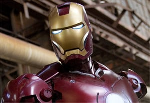 Still from Iron Man. Pic: Param