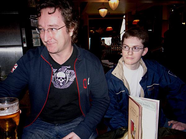 John Oates and Robin Lettice