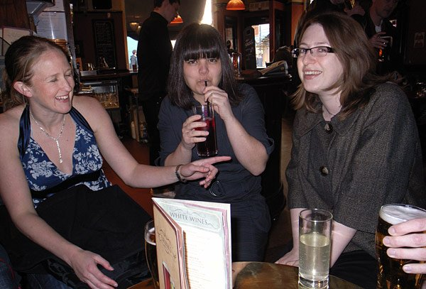 Tracey Cooper, Kelly Fiveash and Sarah Bee