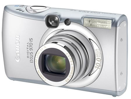 Canon Digital Ixus 970 IS compact camera
