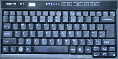 Dell Vostro keyboard layout