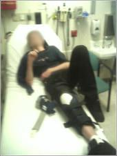 Screenshot of SoBe in hospital