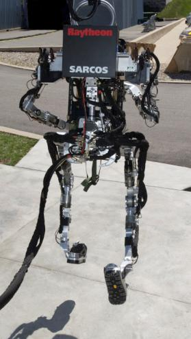 The Raytheon Sarcos Exoskeleton