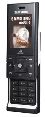 Samsung Adidas F110 miCoach sliderphone