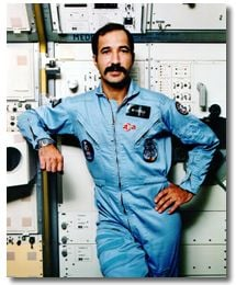 Wubbo Ockels back in his astronaut days