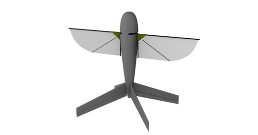 Aerovironment concept of the Nano Air Vehicle
