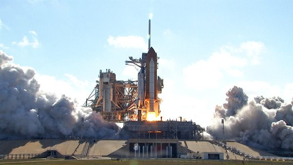 Discovery launch. Pic: NASA