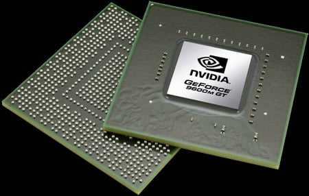 Nvidia GeForce 9600M GT