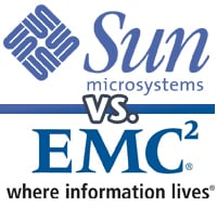 Sun versus EMC