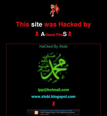 Bedfordshire Police website hacked