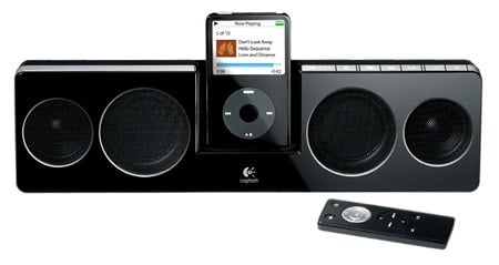 Logitech Pure Fi Anywhere iPod speakers