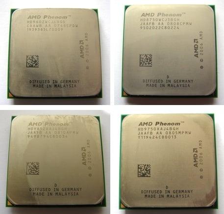 AMD Phenoms