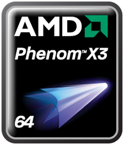 AMD Phenoms - X3 Logo