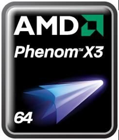 AMD Phenoms - X3 Logo