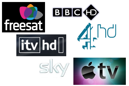 HD TV UK logos