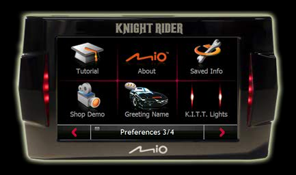 KITT satnav