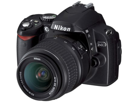 Nikon D40 DLSR
