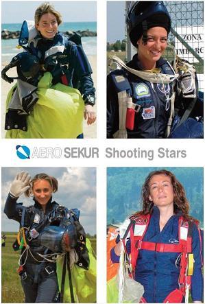 Clockwise: Maria Cristina, Alessandra, Simona and Eva