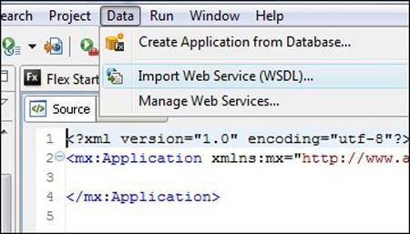 Import WSDL screen grab