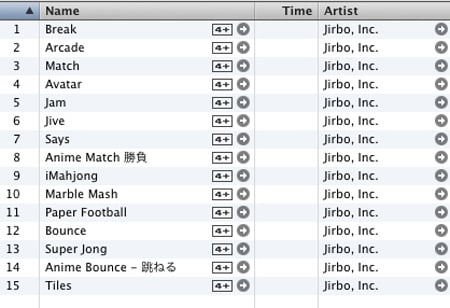 Jirbo on itunes
