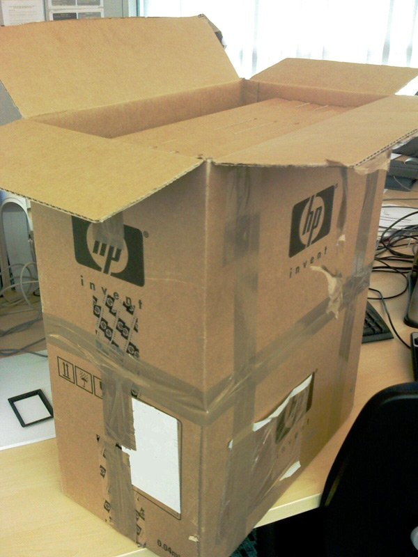 The very large box from HP