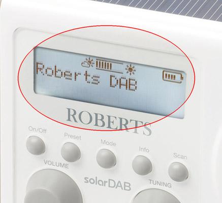 Roberts solarDAB radio