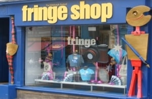 The Edinburgh Fringe shop