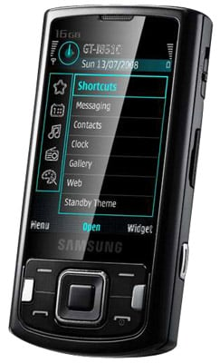 Samsung i8510 8-megapixel cameraphone