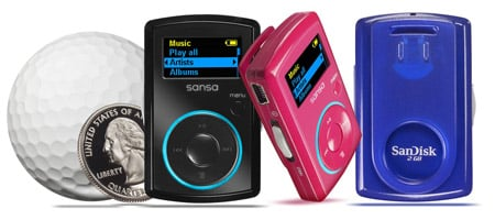 Sansa Clip MP3 player