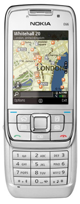 Nokia E66 smartphone