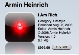 I Am Rich app