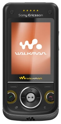 Sony Ericsson W760i Walkman 3G slider phone