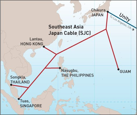 Google Underwater Comms Cable Plan